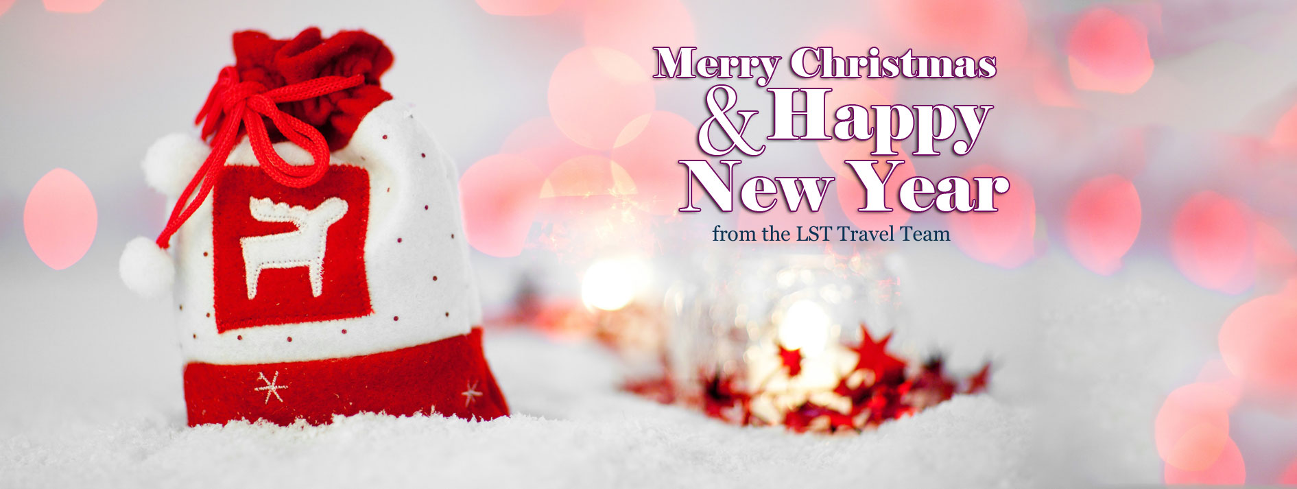 Holiday Greetings from LST Travel Agency